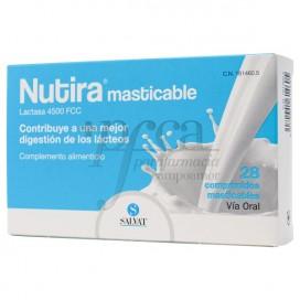 NUTIRA LACTASA 4500 FCC 28 COMPS MASTICABLES