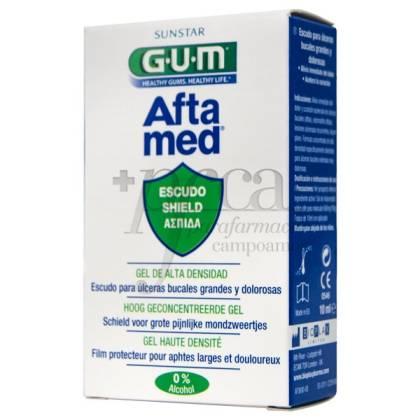 GUM AFTAMED GEL BUCAL ESCUDO CON APLICADOR 10 ML
