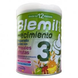 BLEMIL PLUS 3 CRECIMIENTO CEREALES Y FRUTA 800G