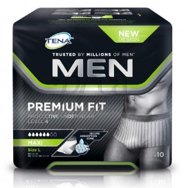 TENA MEN PREMIUM FIT TL LEVEL 4 10 U