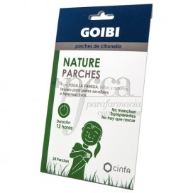 GOIBI ADH CITRONELLA PATCHES OVER CLOTHES 24U