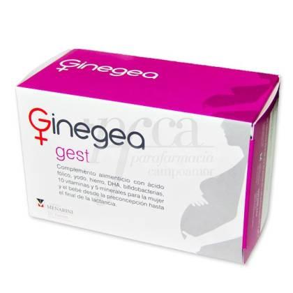 GINEGEA GEST 30 CAPSULAS + 30 PERLAS