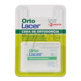 ORTOLACER CERA ORTODONCIA 5+2 BARRAS PROMO