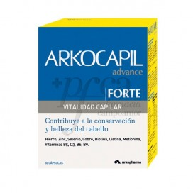 ARKOCAPIL FORTE CAPS VITALIDAD CAPILAR 60 CAPS