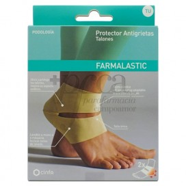 FARMALASTIC ANTI-CRACK PROTECTOR FOR HEELS 2 UNITS