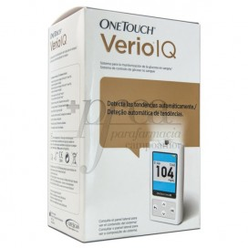 ONE TOUCH VERIO IQ SISTEMA MONITORIZ GLUCEMIA