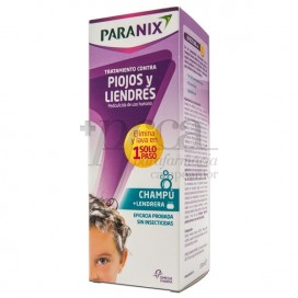 PARANIX CHAMPU + LENDRERA 150ML