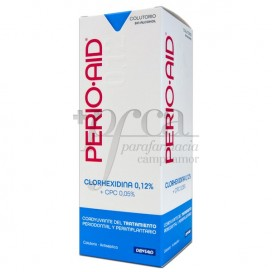 PERIO-AID COLUTORIO COADYUVANTE S/ALCOHOL 500ML