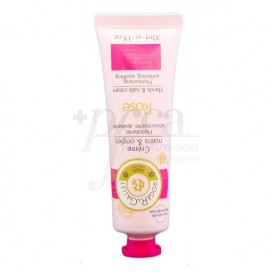 ROGER & GALLET ROSE HAND UND NAGEL CREME 30 ML