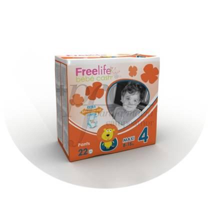 FREELIFE BEBECASH PAÑAL INFANTIL PANTS 7- 18 KG