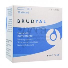 BRUDYAL SOLUCION HUMECTANTE 0,4 ML 20 MONODOSIS