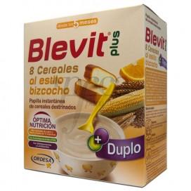BLEVIT PLUS DUPLO 8 CEREAIS BOLO 600 G