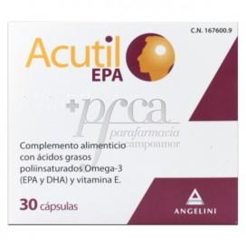 ACUTIL EPA 30 KAPSELN