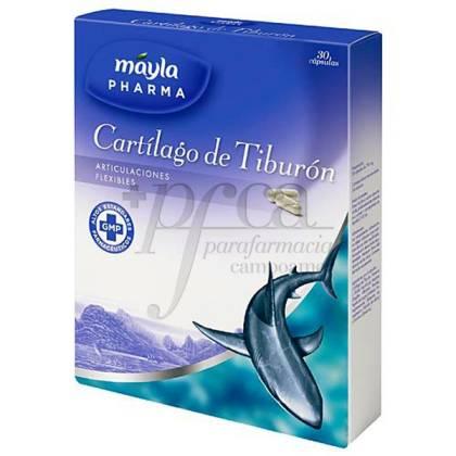 CARTILAGO DE TIBURON 30 CAPS MAYLAPHARMA