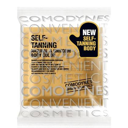COMODYNES SELF TANNING NATURAL AND UNIFORM BODY