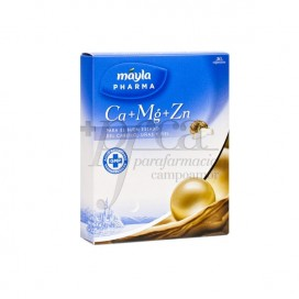 MAYLAPHARMA CA+MG+ ZN 30 CAPSULES