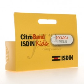 CITROBAND ISDIN KIDS RECARGA 2 PASTILLAS