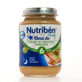 NUTRIBEN CENA DE CREMA DE VERDURAS VARIADAS 200G