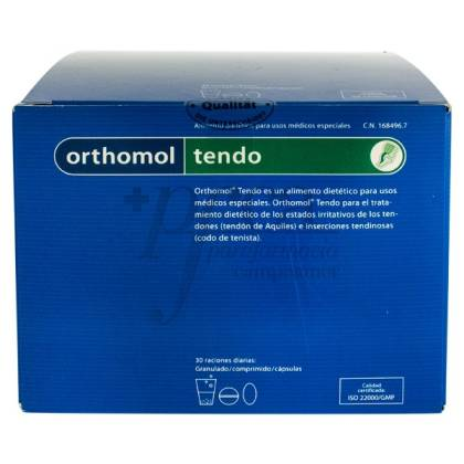 ORTHOMOL TENDO SOBRES GRANULADO 30 RACIONES