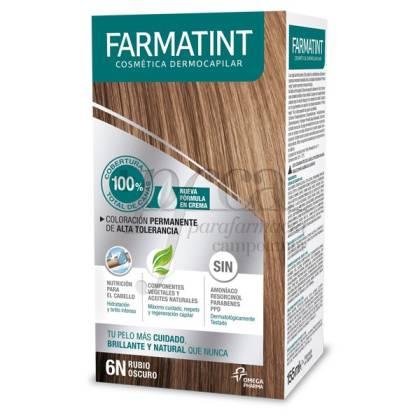 FARMATINT CREMA 6N RUBIO OSCURO 155ML
