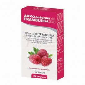 ARKOCETONAS DE FRAMBUESA 300 30 CAPS