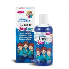 LACER  ENJUAGUE PRE CEPILLADOJUNIOR 500 ML