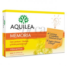 AQUILEA MEMORIA 30 CAPS