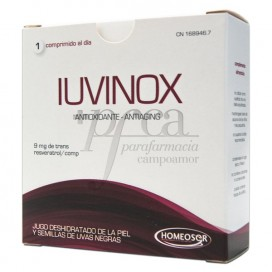 IUVINOX ANTIOXIDANS ANTIAGING 28 TABLETTEN