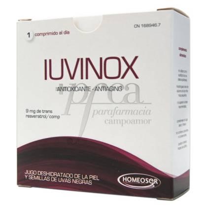 IUVINOX ANTIOXIDANTE ANTIAGING 28 COMPS