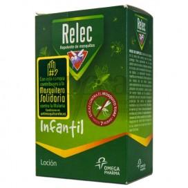 RELEC INFANTIL LOCÃO REPELENTE 2A+ 125ML
