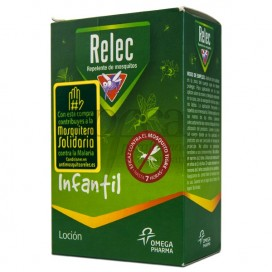 RELEC INFANTIL LOCION REPELENTE 2A+ 125ML
