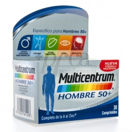 MULTICENTRUM MANN 50+ 30 TABLETTEN