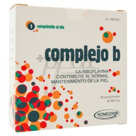 COMPLEJO B 28 TABLETS