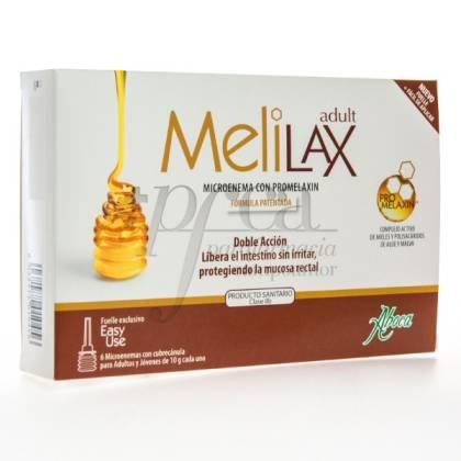 MELILAX 6 MICROENEMAS DE 10G