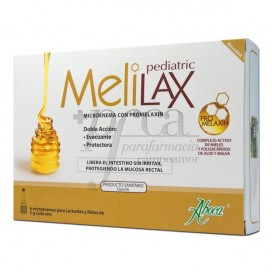 MELILAX PEDIATRIC 6 MICROEN 5G