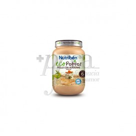 NUTRIBEN ECO CHICKEN WITH VARIED VEGETABLES PORR