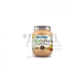 NUTRIBEN ECO BANANA AND APPLE PORRIDGE