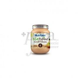 NUTRIBEN ECO PLÁTANO Y MANZANA 130 G