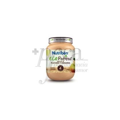 NUTRIBEN ECO SELECCIÓN DE PLÁTANO Y MANZANA 130