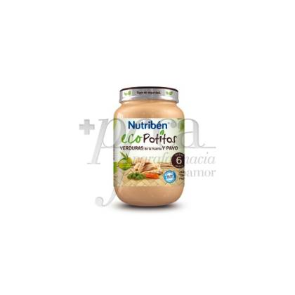 NUTRIBEN ECO VERDURAS DE LA HUERTA Y PAVO 200 G