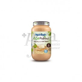 NUTRIBEN ECO POLLO GOURMET CON ARROZ 250 G