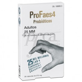 PROFAES4 ADULTS 25MM 30 CAPSULES