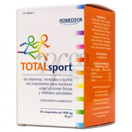 HOMEOSOR TOTALSPORT 30 TABLETTEN