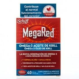MEGARED 500 OMEGA 3 ACEITE DE KRILL 40 CAPS