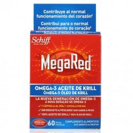 MEGARED 500 MG OMEGA 3 ACEITE DE KRILL 60 CAPS