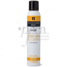 HELIOCARE 360º SPF50 AIRGEL CORPORAL 200ML