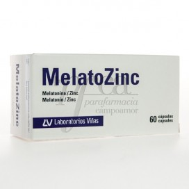 MELATOZINC 60 CAPS