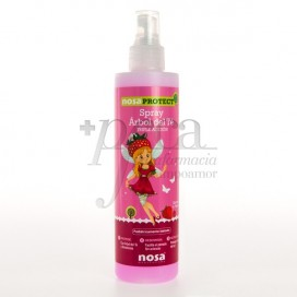 NOSA PROTECT TEA TREE SPRAY STRAWBERRY SCENT 250ML
