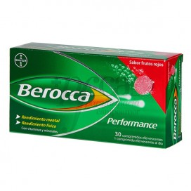 BEROCCA PERFORMANCE FRUTOS VERMELHOS 30 COMPRIMIDOS EFERVES