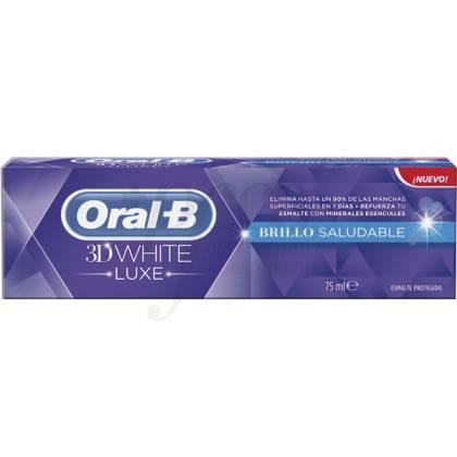 ORAL-B 3D WHITE PASTA DENTAL LUXE BRILLO SALUDAB